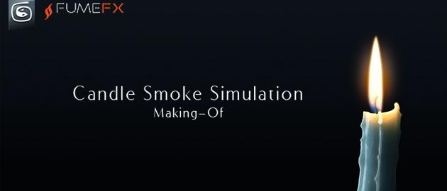 Simulation d'une bougie réaliste avec FumeFX