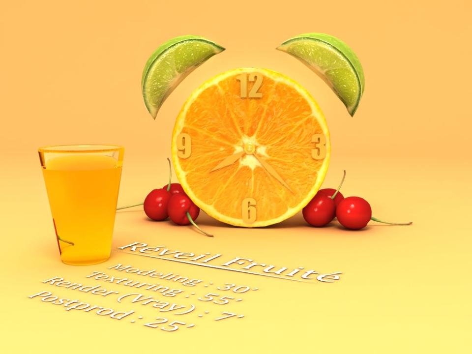 Réveil Fruité