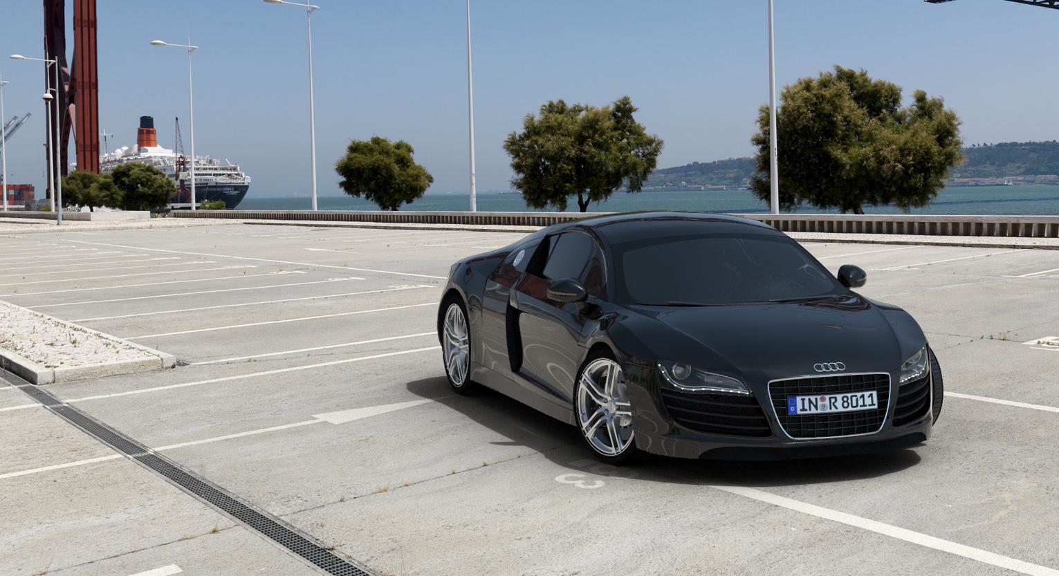 Intégration Audi R8